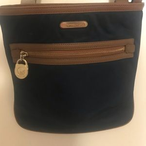 Michael Kors navy blue crossbody